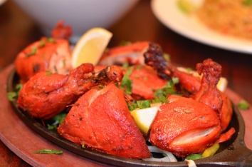 Tandoori Chicken is a very traditional dish prepared by marinating chicken in yogurt and then seasoned with spices to create its rich flavor and color. Its not only delicious its a diet friendly option.