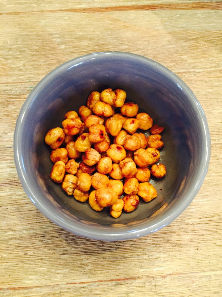Cinnamon Crunch Chickpeas